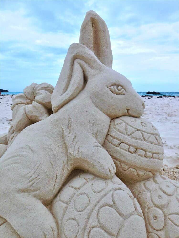 Bermuda Sandcastle Competition Easter Bermuda April 3 2021 (3)