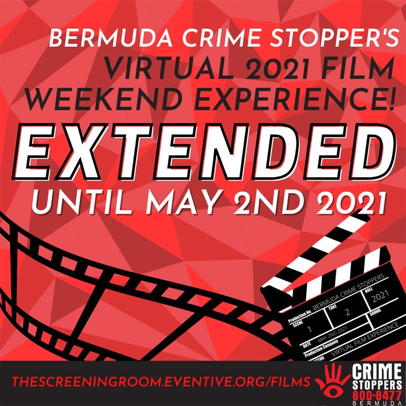 Crime Stoppers Bermuda Film Weekend April 2021