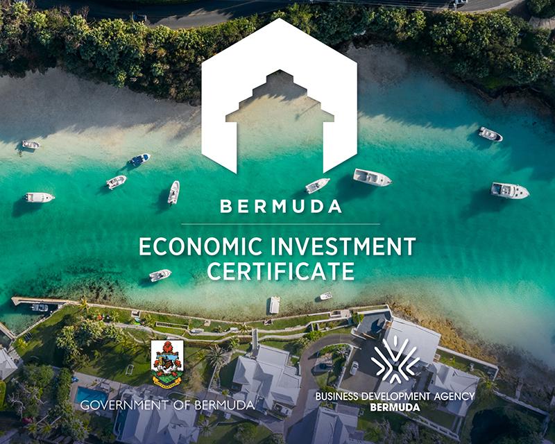 Economic Investment Certificate Bermuda April 2021