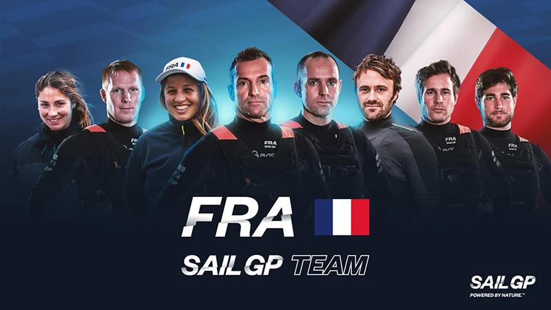 France SailGP Team Bermuda April 2021