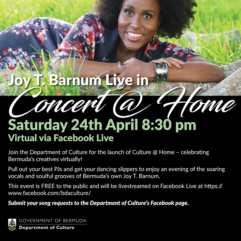 Joy T Barnum Bermuda April 2021