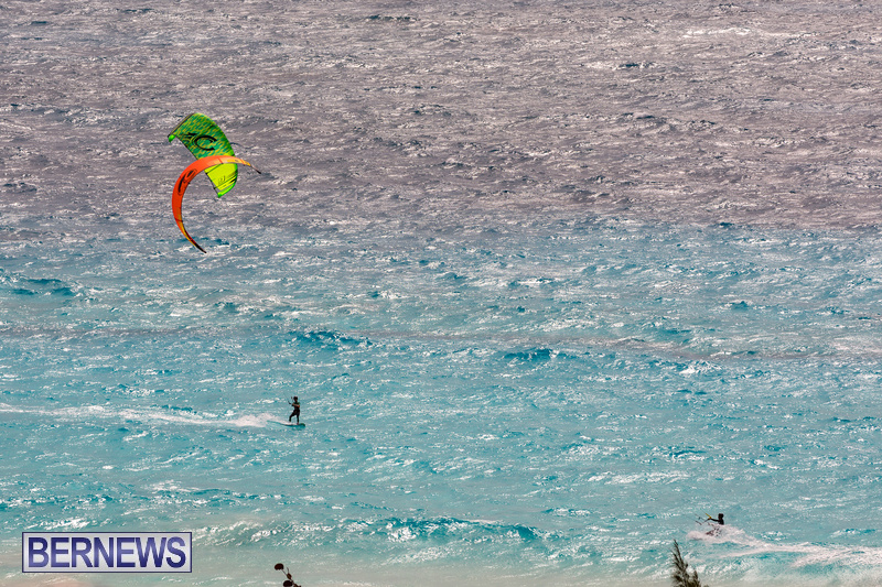 Kite Surfing Bermuda April 2021 9