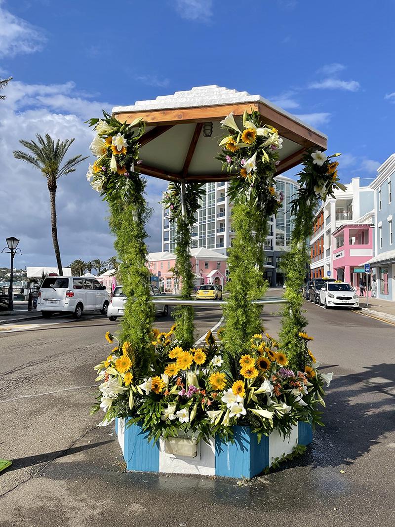 Nicky Gurret The Birdcage Bermuda April 2021 2