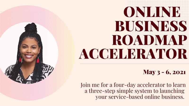Online Business Roadmap Accelerator Bermuda April 2021