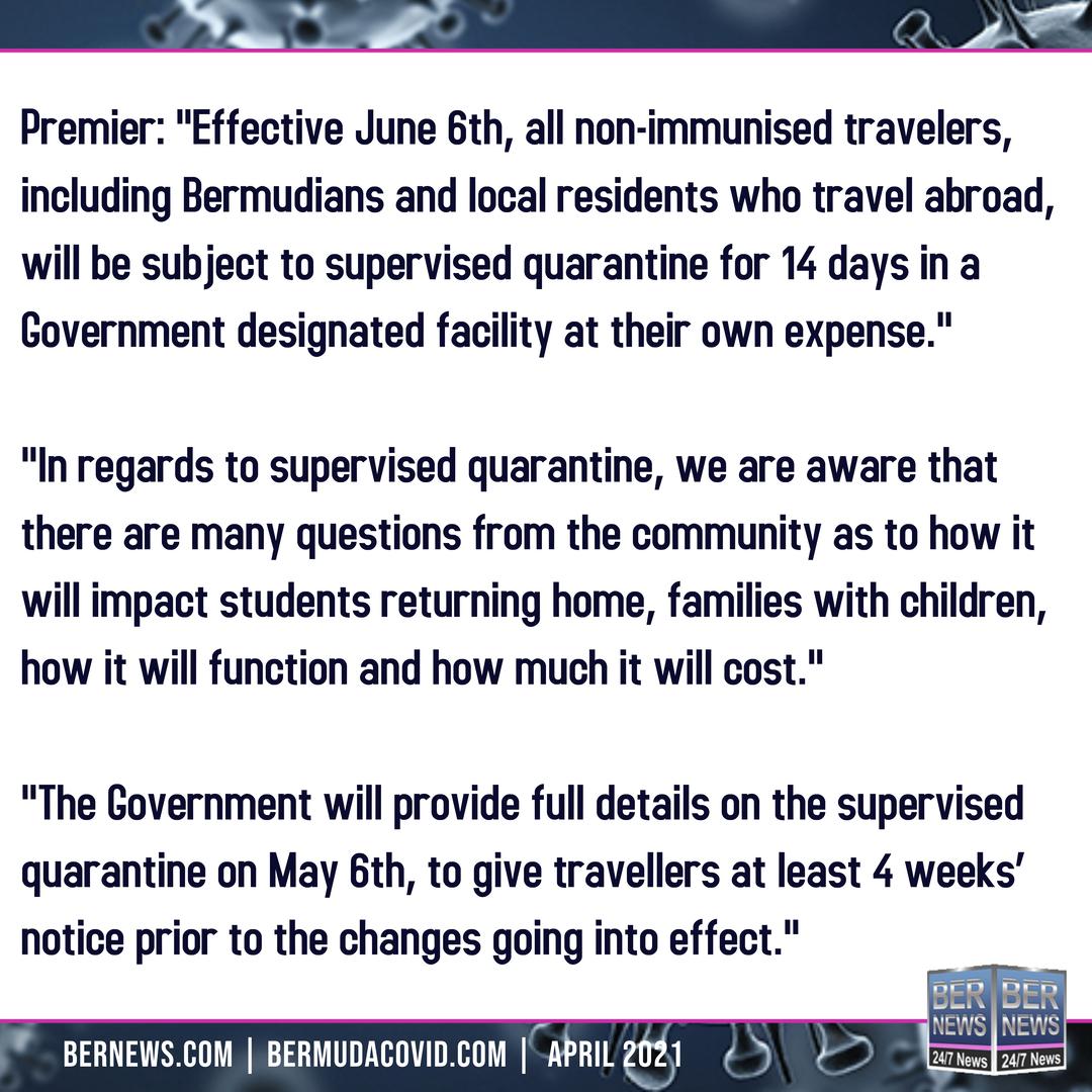Premier April 27 2021 Covid Bermuda square text