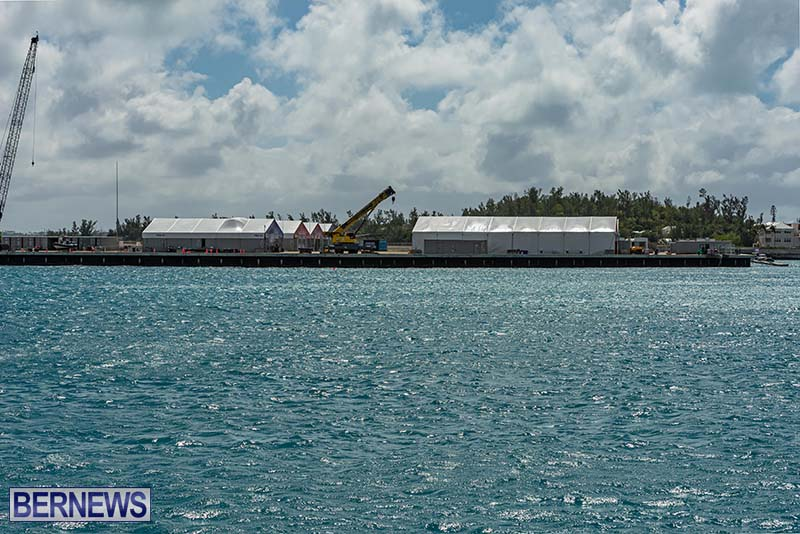 SailGP Area Set Up In Dockyard Bermuda April 2021 1