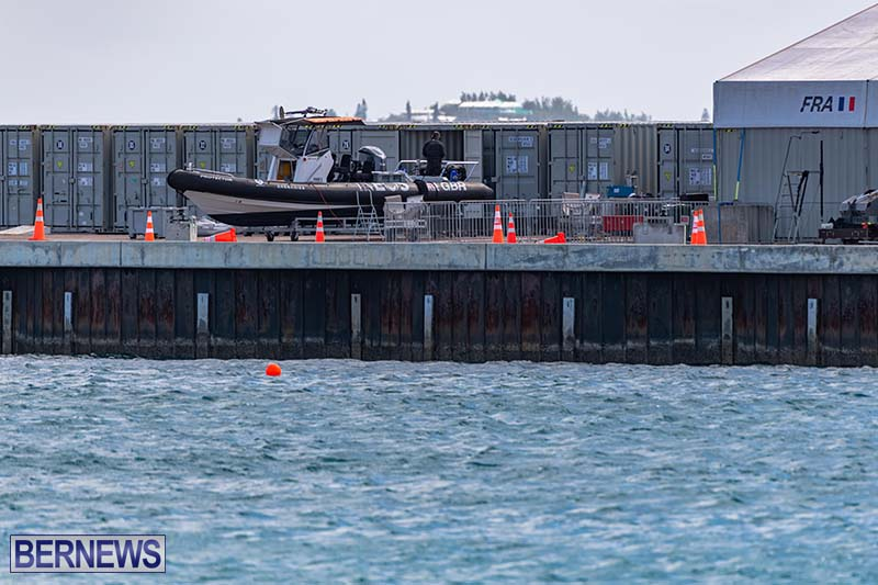 SailGP Area Set Up In Dockyard Bermuda April 2021 10