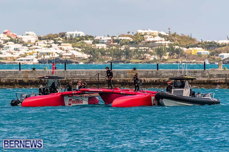 SailGP Area Set Up In Dockyard Bermuda April 2021 14