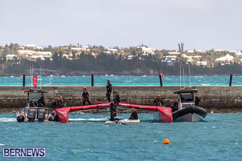 SailGP Area Set Up In Dockyard Bermuda April 2021 15