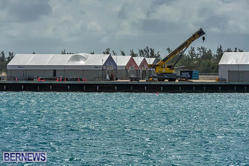 SailGP Area Set Up In Dockyard Bermuda April 2021 2