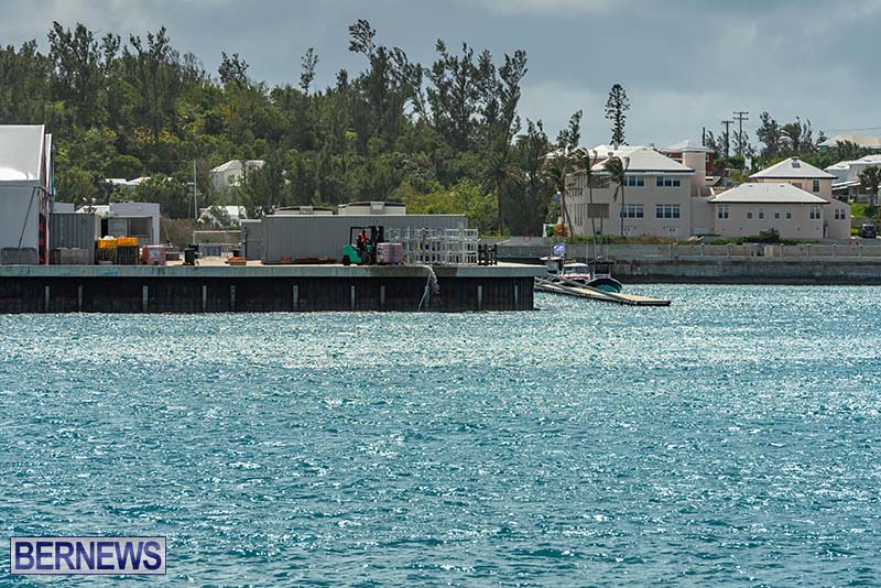 SailGP Area Set Up In Dockyard Bermuda April 2021 3