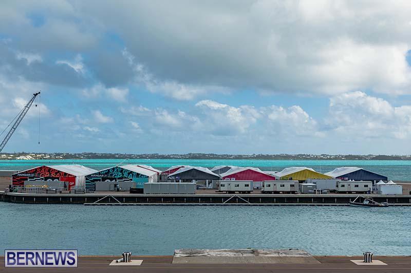 SailGP Area Set Up In Dockyard Bermuda April 2021 4