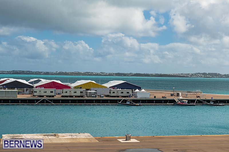 SailGP Area Set Up In Dockyard Bermuda April 2021 6