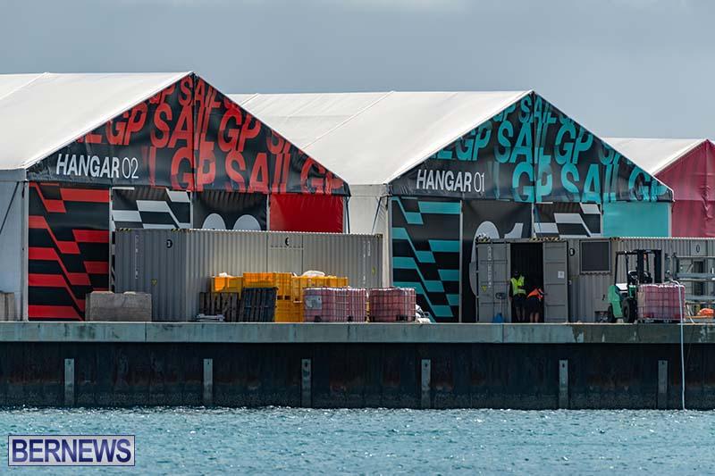 SailGP Area Set Up In Dockyard Bermuda April 2021 8