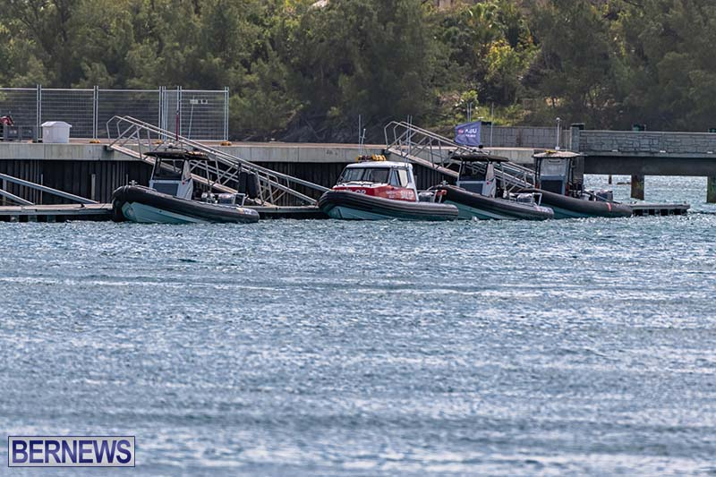 SailGP Area Set Up In Dockyard Bermuda April 2021 9