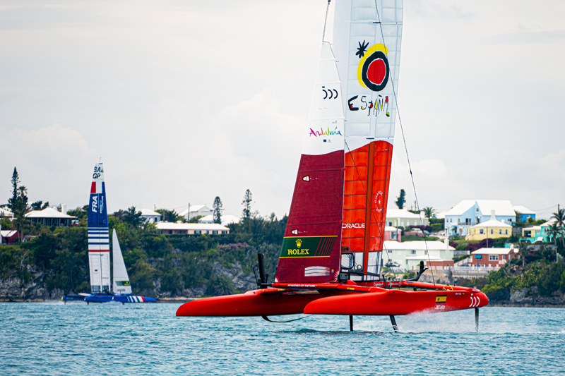 SailGP Bermuda April 2021
