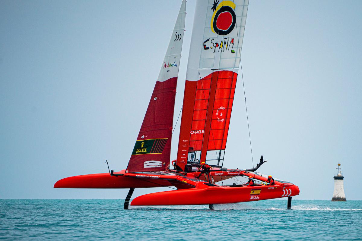 Sailing SailGP In Bermuda April weekend 2021 (5)