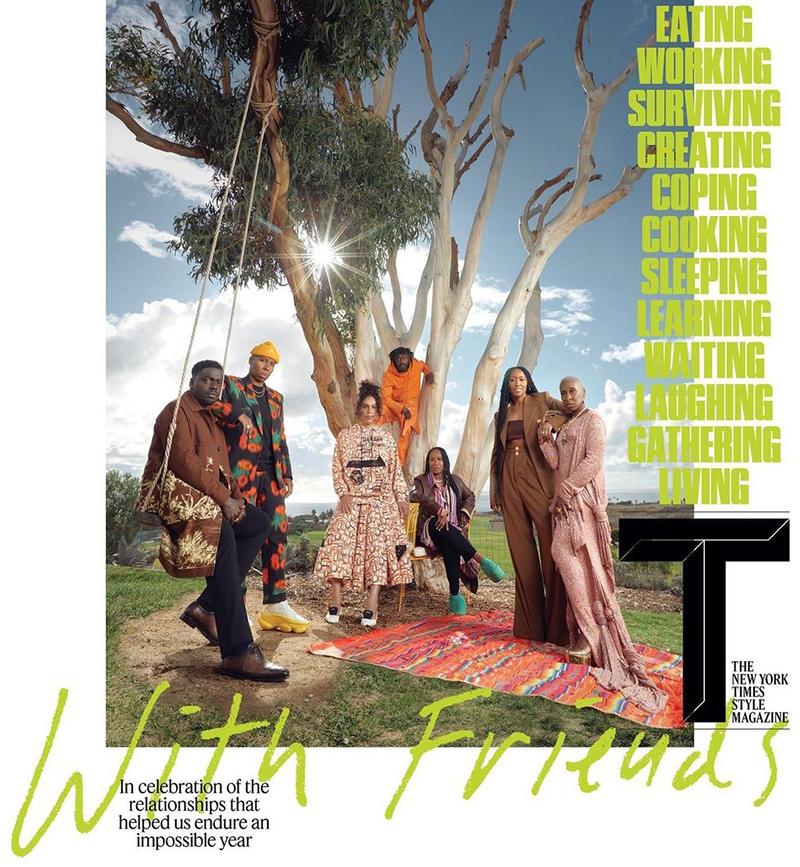 Shiona Turini On Cover Of T Magazine Bermuda April 2021 2