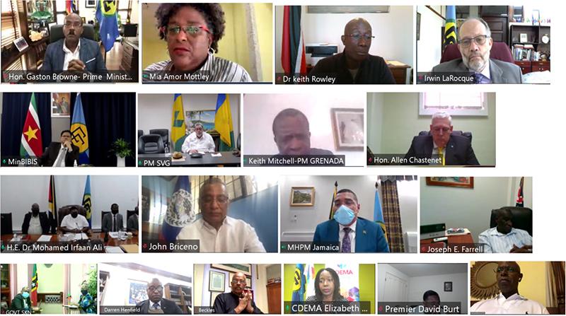 Special Emergency Meeting Of CARICOM Bermuda April 2021