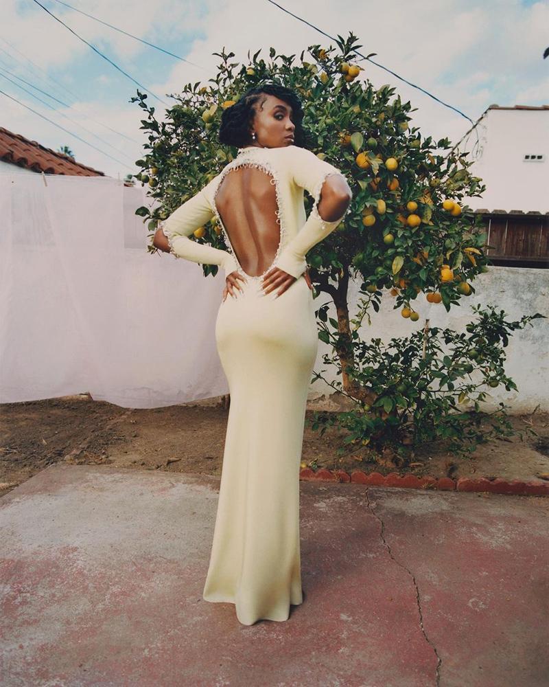 Turini Styles KiKi Layne For Elle Bermuda April 2021 1