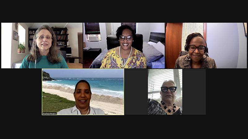 WISTA Bermuda Donates To Age Concern April 2021