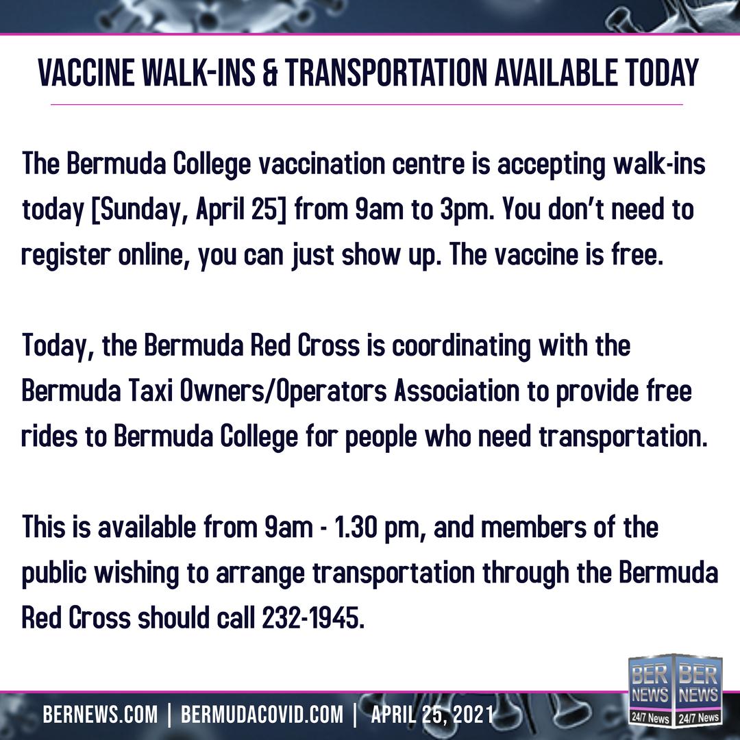 april 25 2021  Covid Bermuda square text