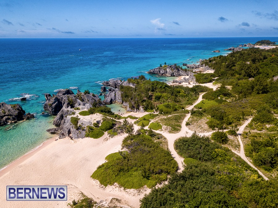 366 - Summer in Bermuda, with beaches, trails and diving offshore