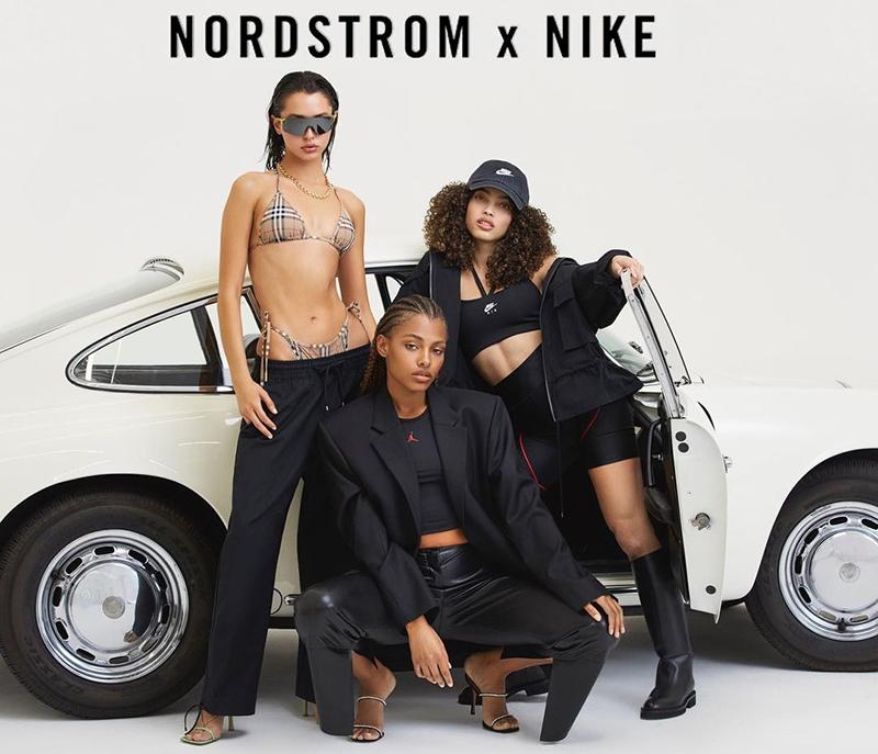 Aliana King In Nordstrom X Nike Ad Bermuda May 2021