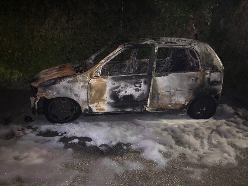 BFRS Extinguish Two Vehicles On Fire 1