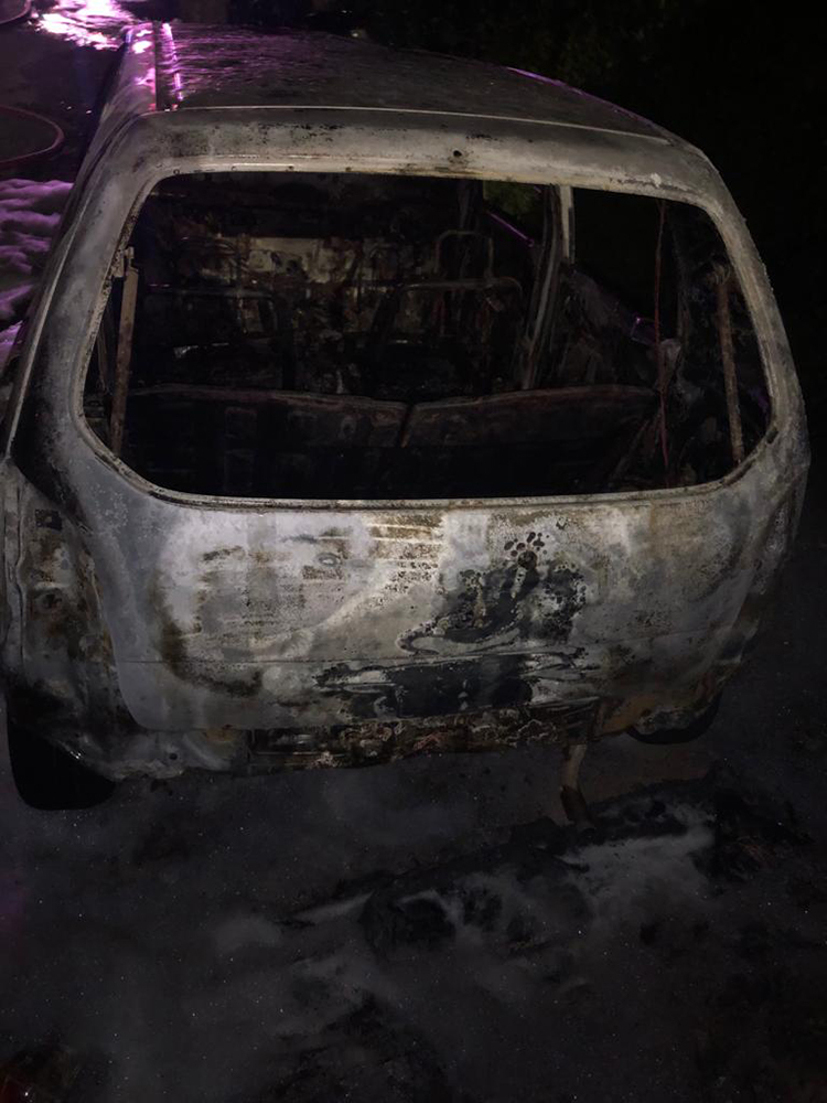 BFRS Extinguish Two Vehicles On Fire 5