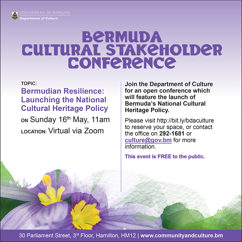 Bermuda Cultural Stakeholder Conference May 2021