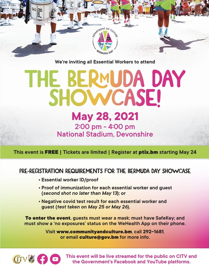 Bermuda Day Showcase May 2021