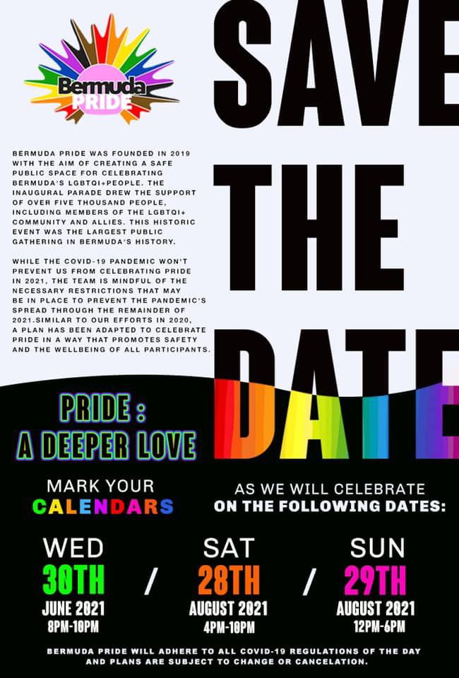 Bermuda Pride Event May 2021