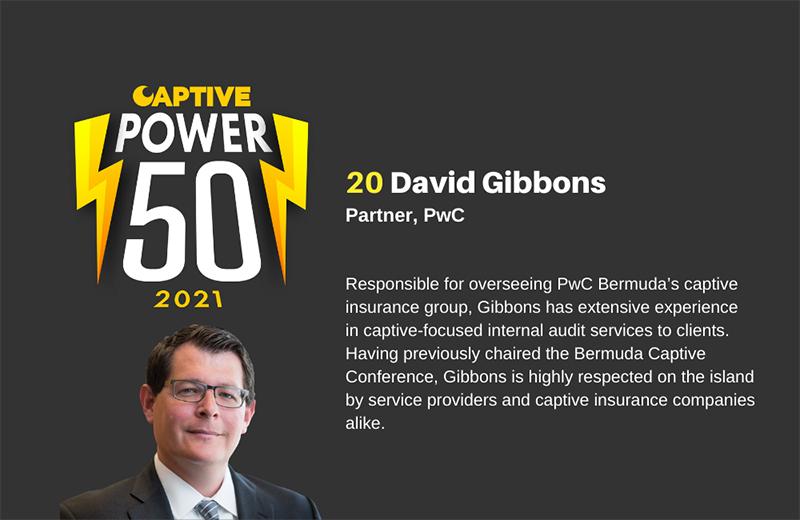 Captive Review David Gibbons Bermuda May 2021