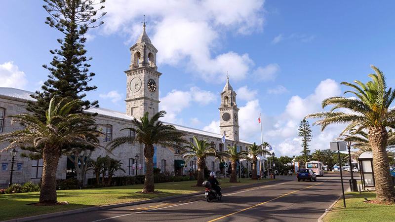 Clocktower Mall Bermuda May 2021