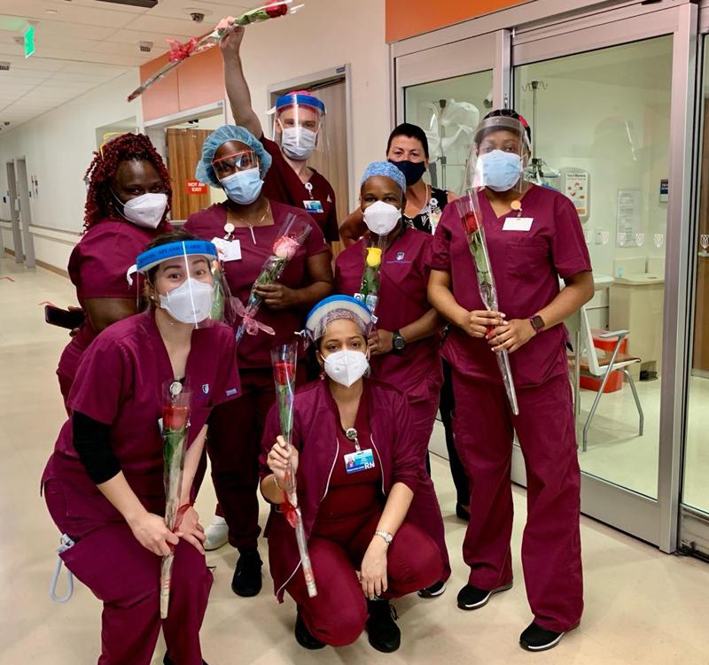 Emergency room nurses Bermuda May 2021
