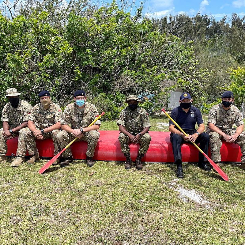 Governor Lalgie Visits Outward Bound Facility Bermuda May 2021 1