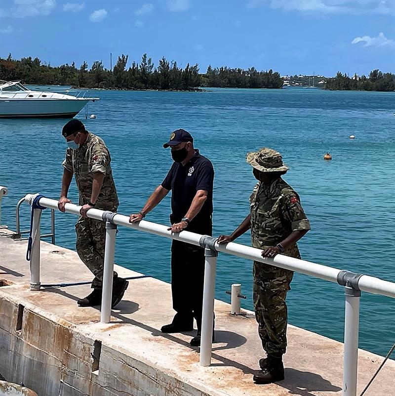 Governor Lalgie Visits Outward Bound Facility Bermuda May 2021 2
