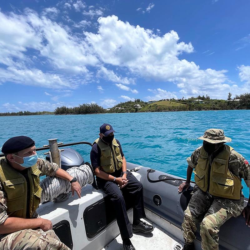 Governor Lalgie Visits Outward Bound Facility Bermuda May 2021 3
