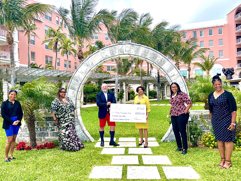 Hamilton Princess Donates $3,500 To WRC Bermuda May 2021 1