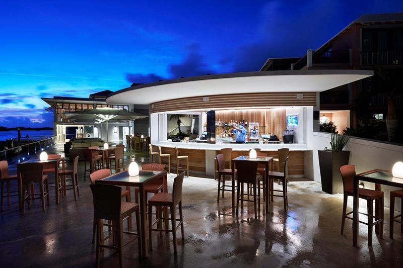 Hamilton Princess Marina Bar Bermuda May 2021 1
