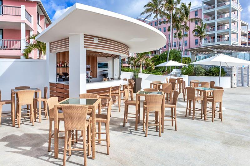 Hamilton Princess Marina Bar Bermuda May 2021 2
