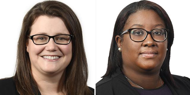 Hannah Tildesley & Caljonah Smith Bermuda May 2021