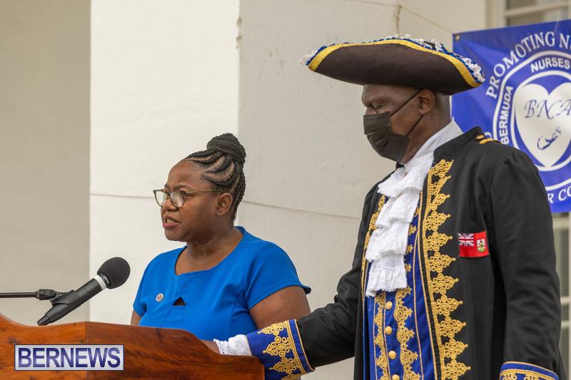 International Nurses Day Proclamation Reading Bermuda May 2021 11