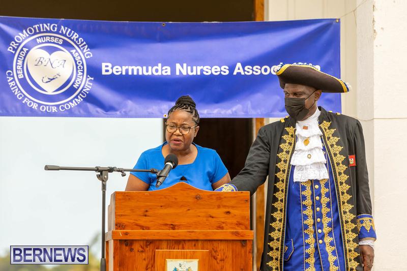 International Nurses Day Proclamation Reading Bermuda May 2021 12