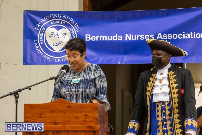 International Nurses Day Proclamation Reading Bermuda May 2021 14