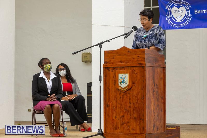 International Nurses Day Proclamation Reading Bermuda May 2021 15