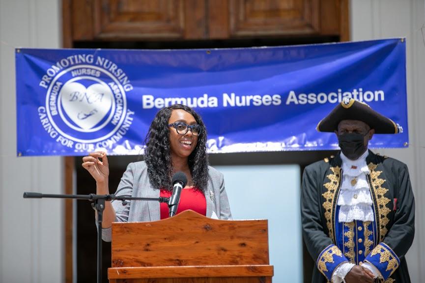 International Nurses Day Proclamation Reading Bermuda May 2021 19