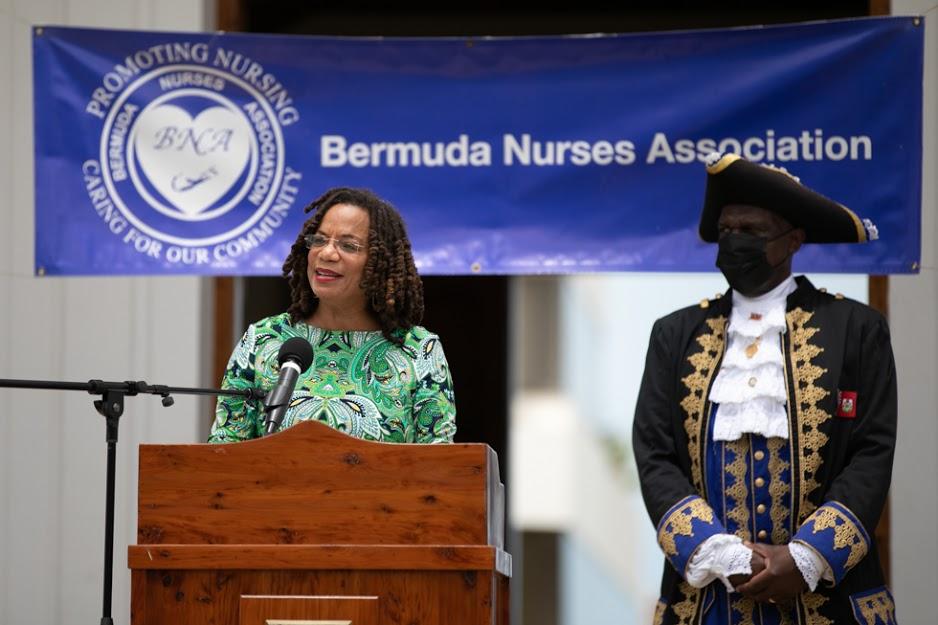 International Nurses Day Proclamation Reading Bermuda May 2021 20