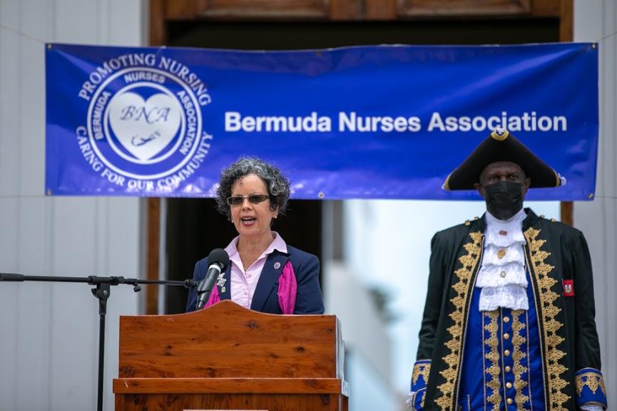International Nurses Day Proclamation Reading Bermuda May 2021 21
